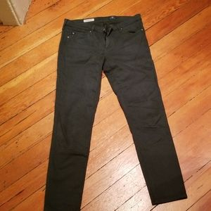 Forest green ag jeans